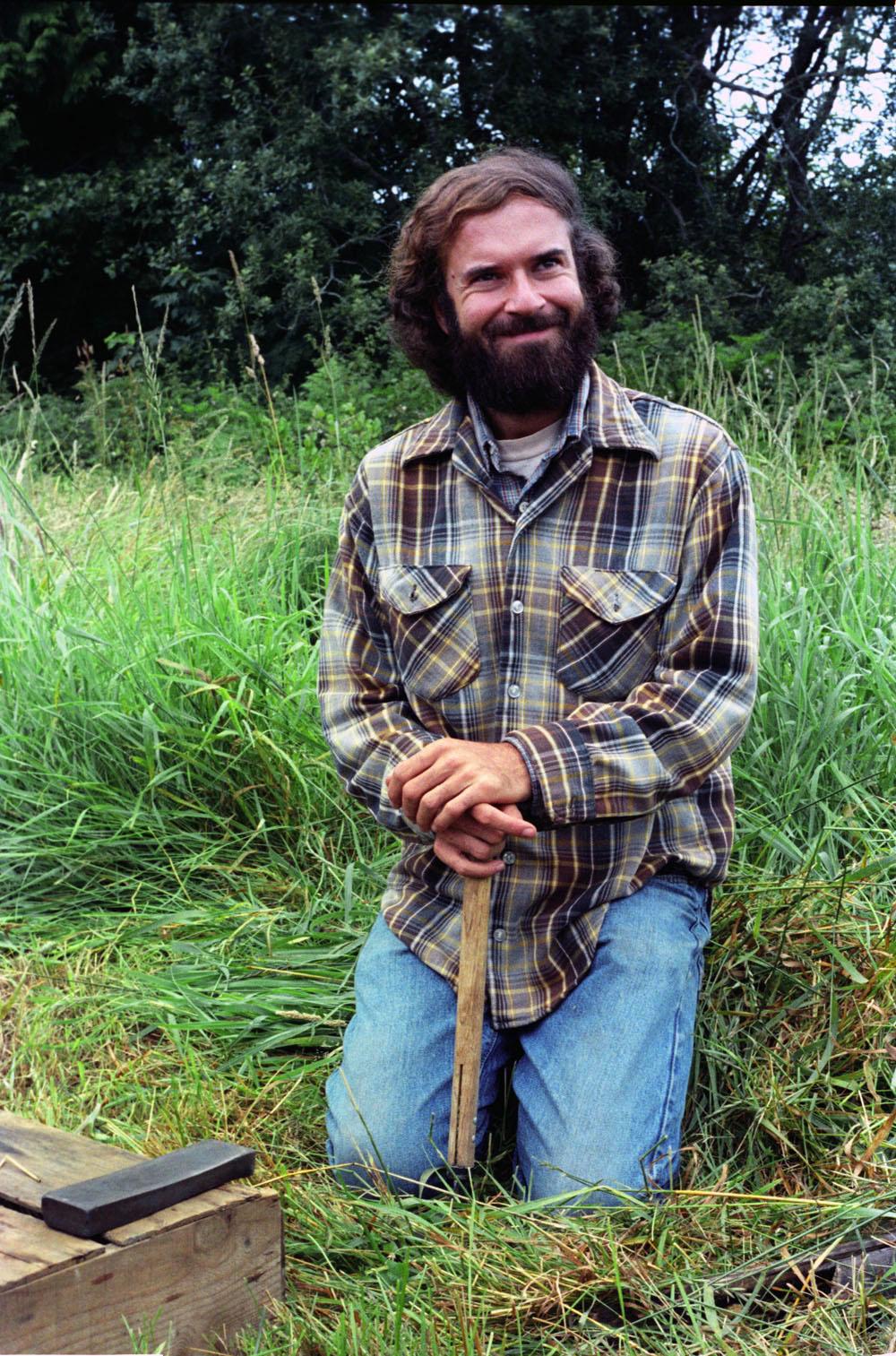 7-20-80 - Larry Korn at Pragtree Farm