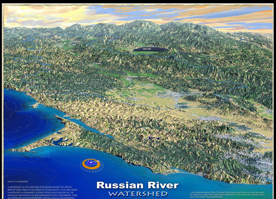 Picture of Russian River Watershed