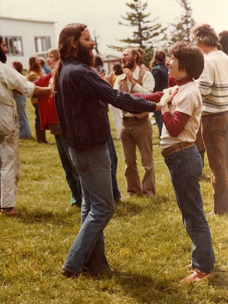 <p>Circle Dancing in the Sunshine - 5-9-81</p>