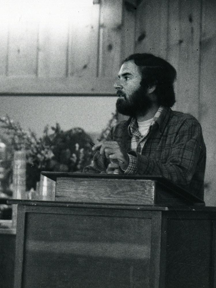 <p>Larry Korn, Keynote Speaker, 5-9-81</p>