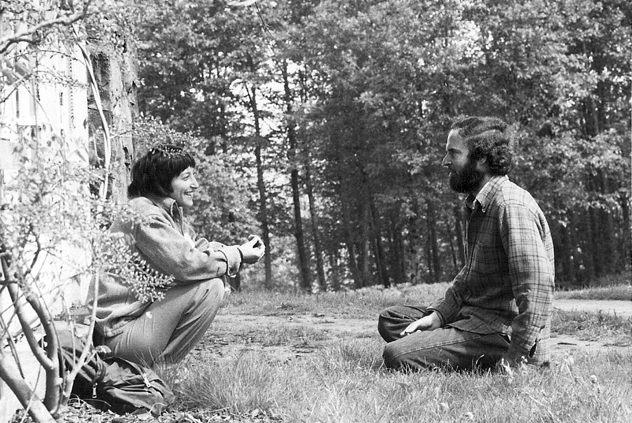 <p>Anya Woestwin Talking with Larry Korn - 5-9-81</p>