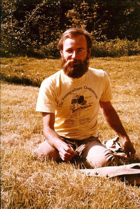 <p>Michael Pilarski at the Maritime Permaculture Conference - 5-9-81</p>